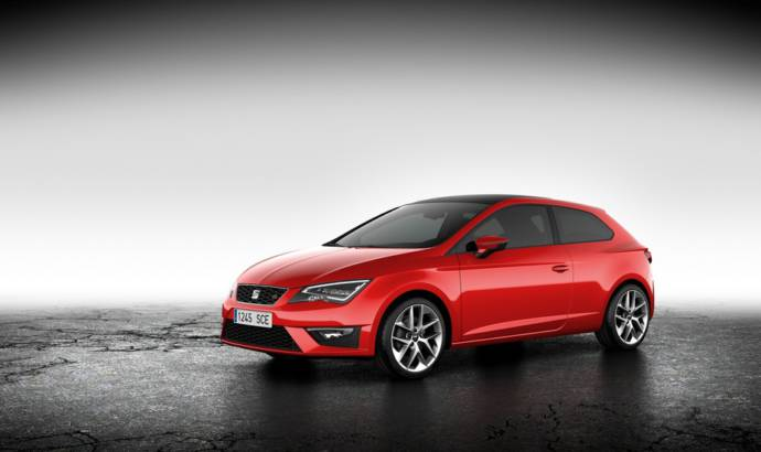 2013 Seat Leon SC, priced at 15.370 pounds in UK