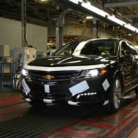 2014 Chevrolet Impala production stated
