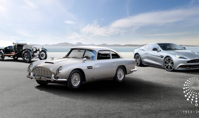 Aston Martin celebrates centenary with european tour