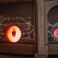 Ferrari store to feature a heart on Reading Street, London