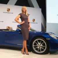 Maria Sharapova will represent Porsche for the next three years