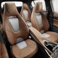 Mercedes-Benz GLA Concept - Official images and details