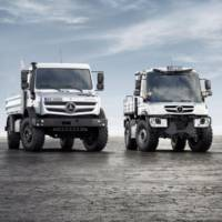 Mercedes-Benz has unveiled the 2014 Unimog and Econic trucks