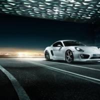 Porsche Cayman modified by TechArt