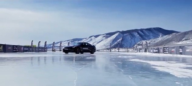 Video: Nissan GT-R hits 294.5 km/h on Baikal Lake