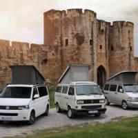 Volkswagen California celebrates its 25th year anniversary