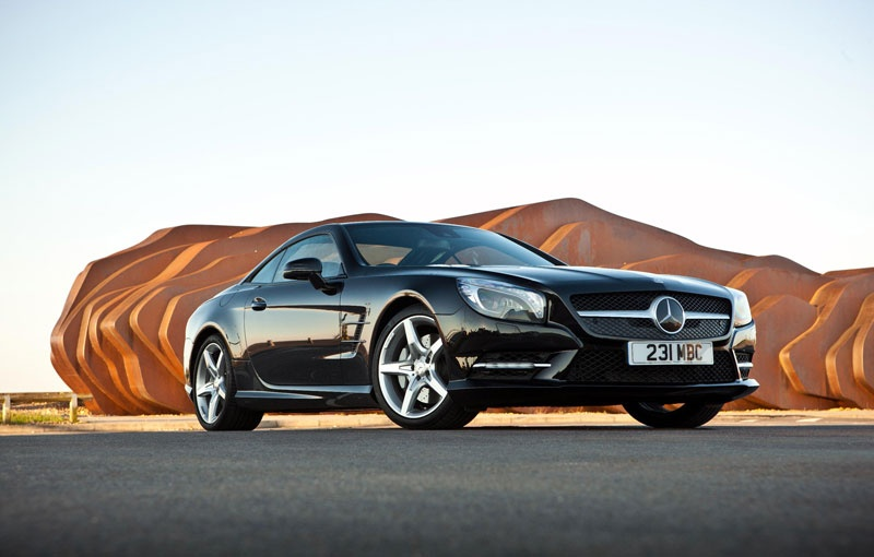 2013 Mercedes SL gets revised and starts at 69.960 pounds
