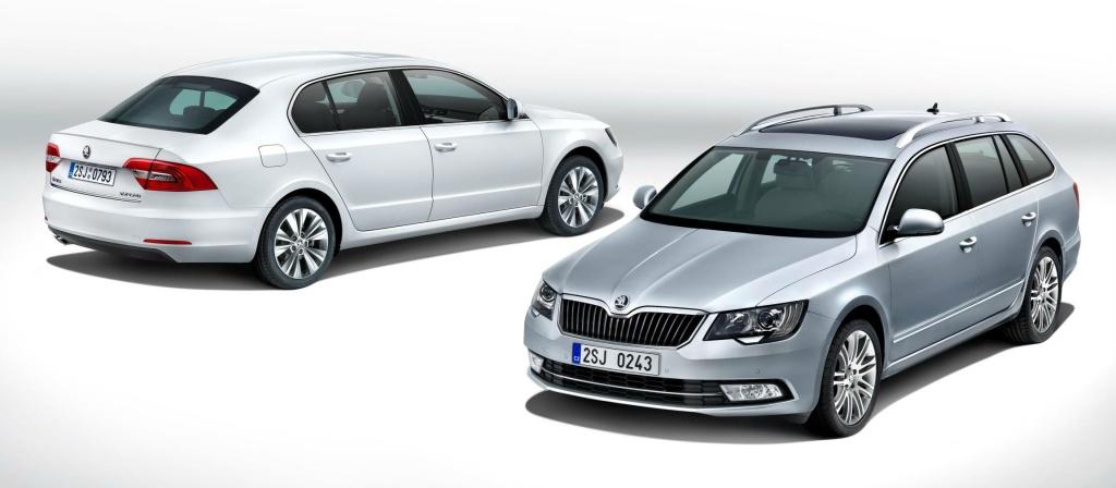 2013 Skoda Superb facelift starts at 18.555 pounds in UK