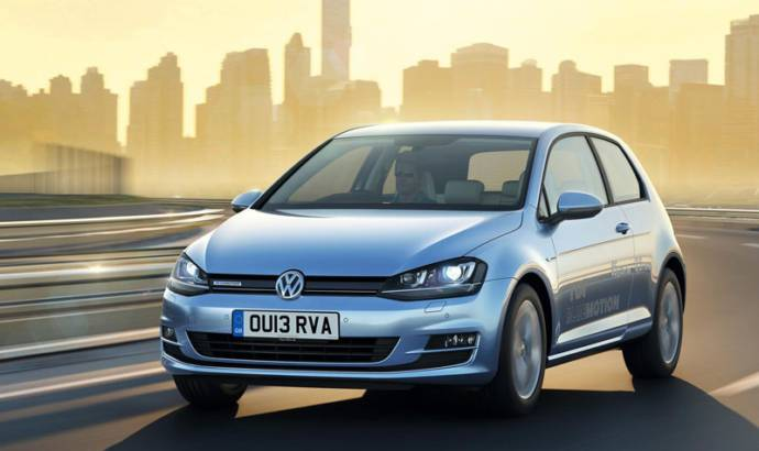 2013 Volkswagen Golf BlueMotion starts from 20.335 pounds in UK