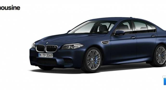 2014 BMW M5 facelift - first leaked photos