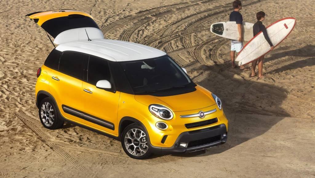 2014 Fiat 500L reaches US showrooms at 19.100 USD