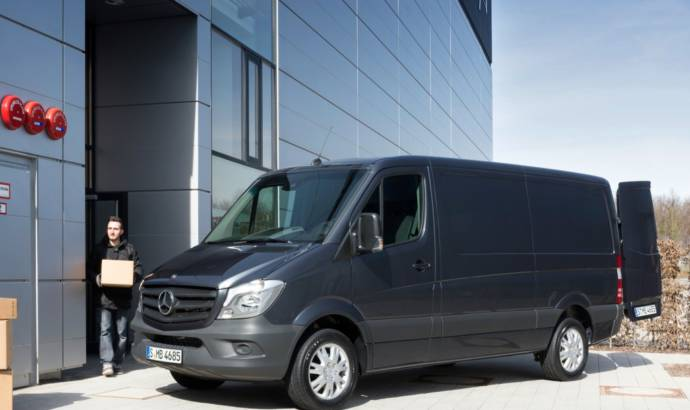 2014 Mercedes Sprinter Van makes debut