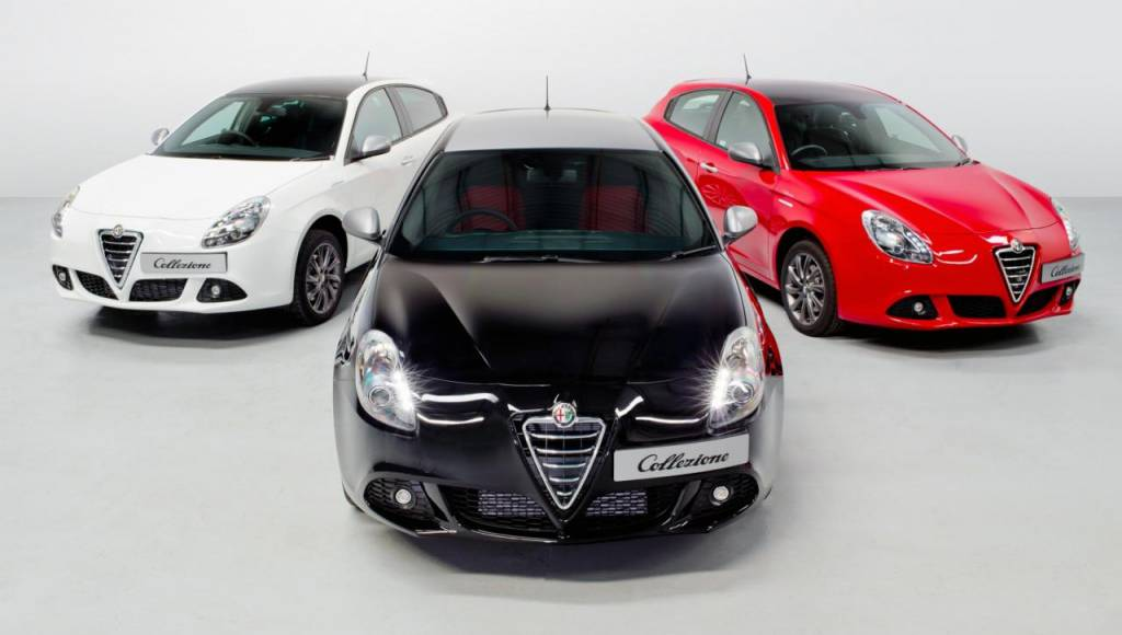 Alfa Romeo Giulietta Colletzione - a new limited edition only for UK