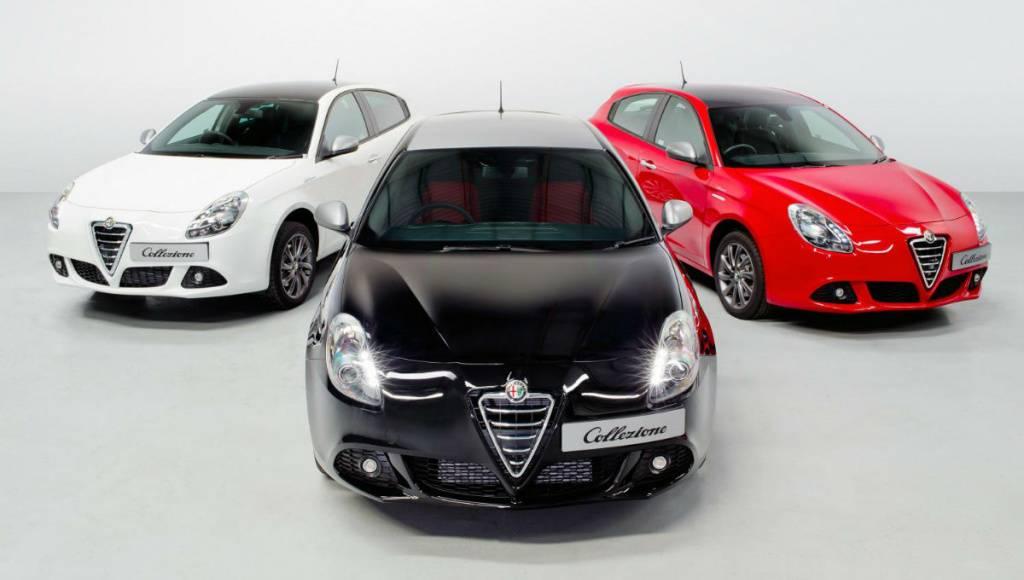 Alfa Romeo Giulietta Collezione available from 18.265 pounds in the UK