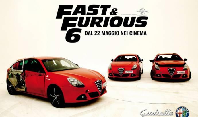 Alfa Romeo Giulietta stars in Fast and Furious 6
