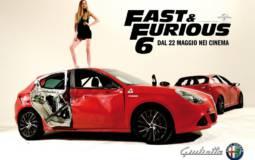 Alfa Romeo Giulietta to star in Fast & Furious 6