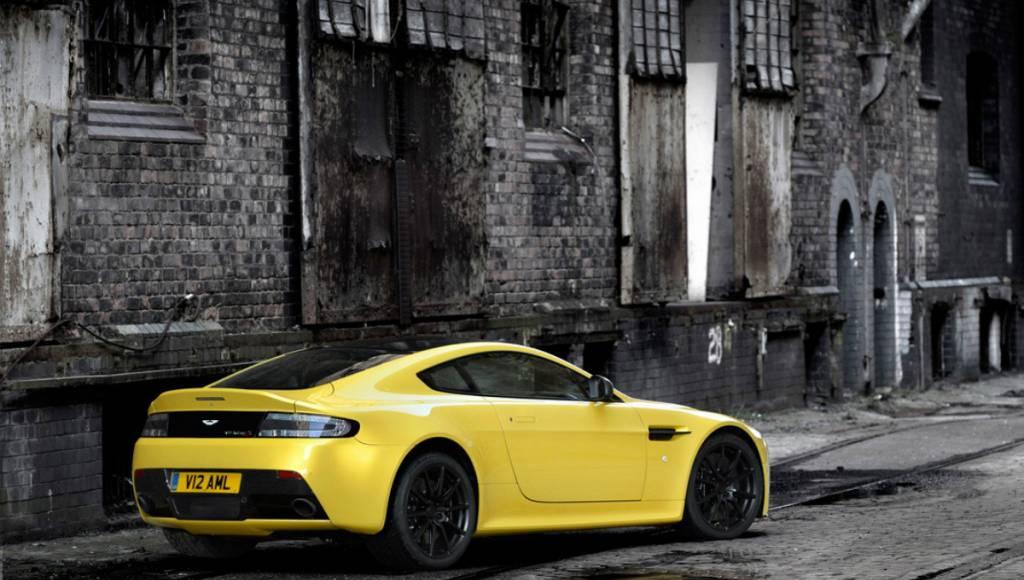 Aston Martin releases the new V12 Vantage S