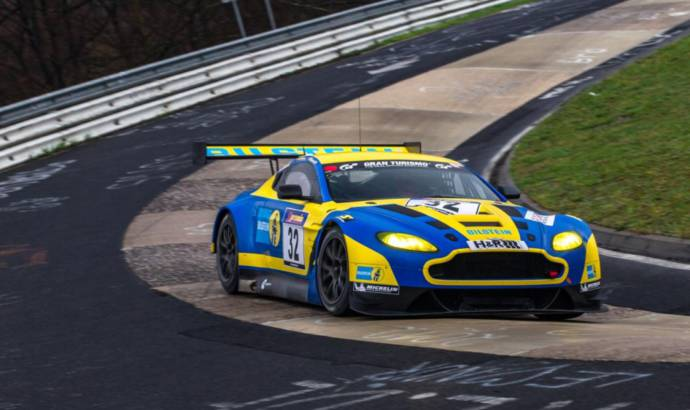 Aston Martin to compete in the Nurburgring 24 Hour with the V12 Vantage GT3