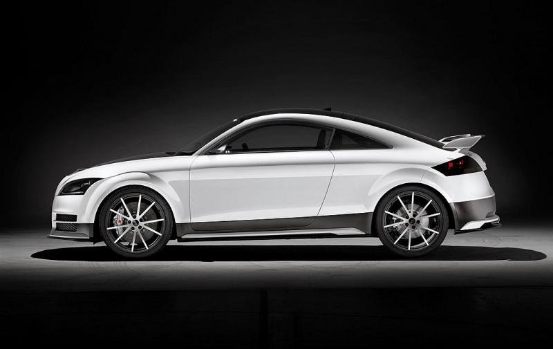 Audi TT Ultra Quattro Concept debuts in Worthersee