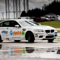 BMW enters Guinness World Record with longest drift behind the new M5