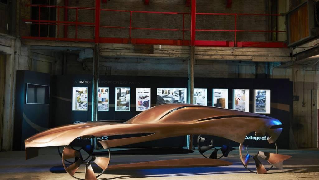 British students present Jaguar inspired artwork