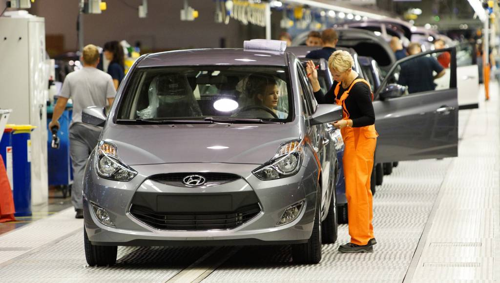 Hyundai has built 1M cars in its Czech plant