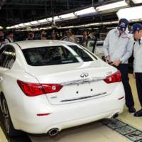 Infiniti starts production of its new Q50 sedan in Tochigi plant