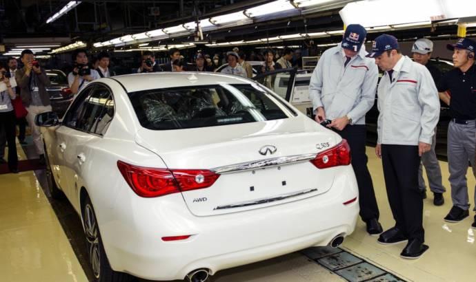 Infiniti starts production of its new Q50 sedan in Tochigi plant
