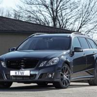 KTW Mercedes E-Class Estate tuning program