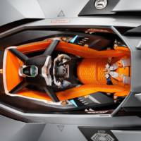 Lamborghini Egoista Concept celebrates 50 years of Lamborghini