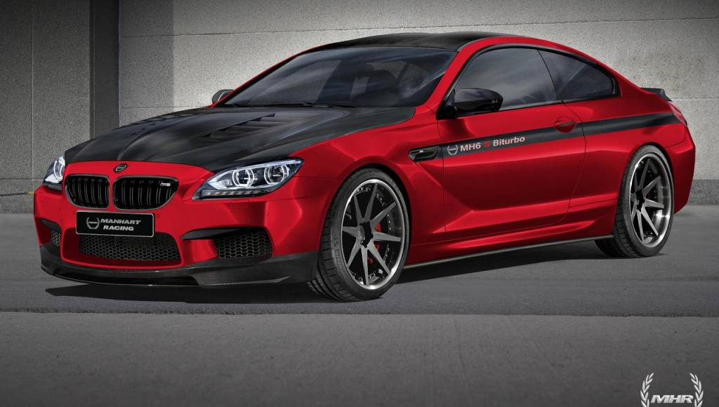 Manhart Racing BMW M6 tuning package rendered