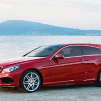 Mercedes-Benz E-Class Coupe Shooting Brake - Study design