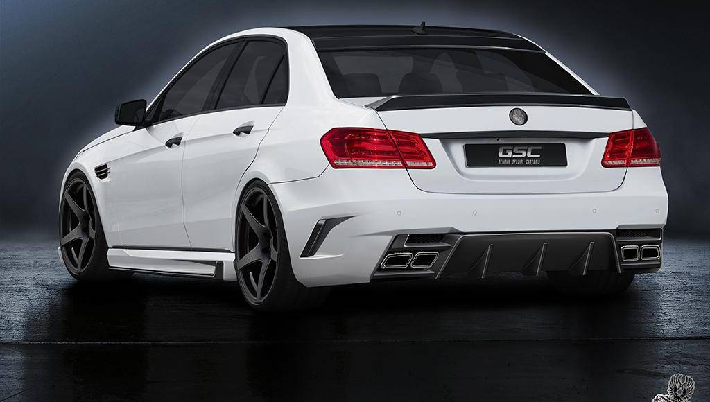 Mercedes-Benz E-Class facelift modified by German Special Customs