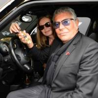 Mini Paceman by Roberto Cavalli revealed at Vienna Life Ball