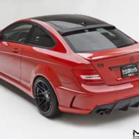 Misha Design Mercedes C Class bodykit resembles the AMG Black Series