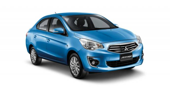Mitsubishi Attrage first official image and details