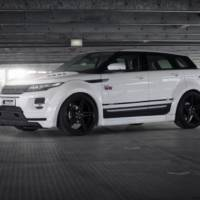 Range Rover Evoque modified by Prior Design