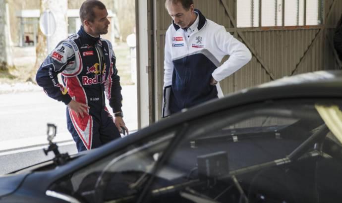 Sebastien Loeb, thrilled about the new Peugeot 208 T16 Pikes Peak