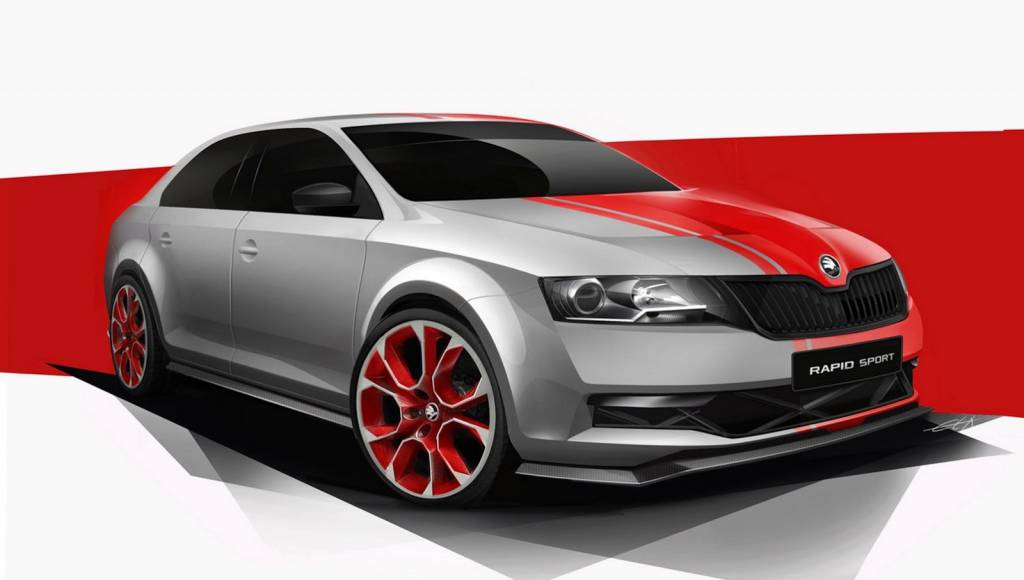 Skoda Rapid Sport Concept announced for Worthersee Tuning Show
