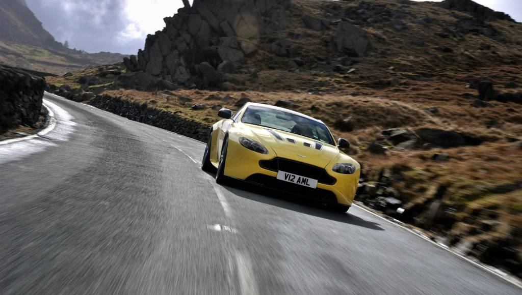 VIDEO: Aston Martin V12 Vantage S first scenic movie
