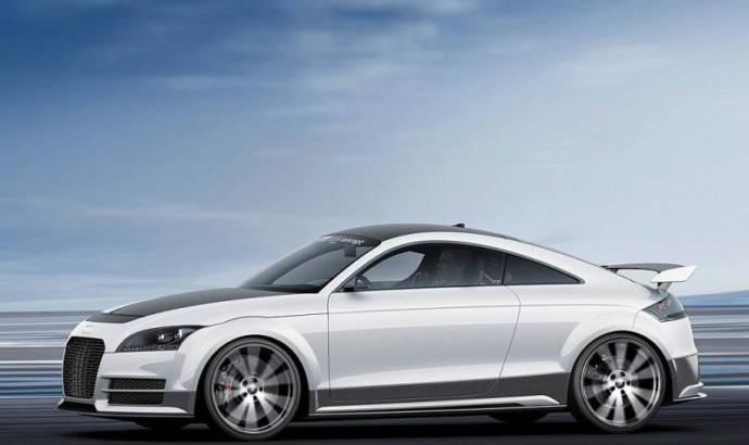 VIDEO: Audi TT Ultra Sport Quattro Concept driven by Andre Lotterer