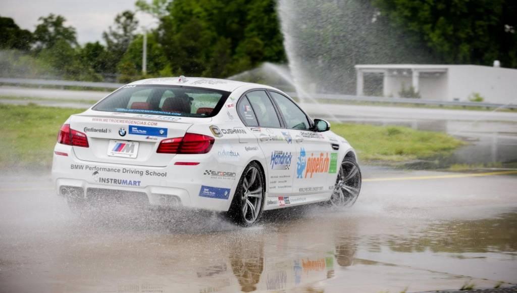 VIDEO: BMW M5 drift world record caught on tape