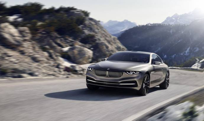 VIDEO: BMW Pininfarina Gran Lusso Coupe gets on tape