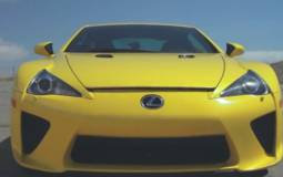 Video: Paul Walker aka Brian O'Conner gets Fast and Furious in a Lexus LF-A