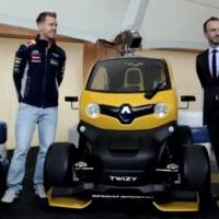 Video: Sebastian Vettel drives the new Renault Zoe and Twizy Sport F1