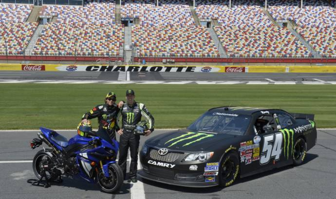 Video: Valentino Rossi is having fun in a Toyota NASCAR racer