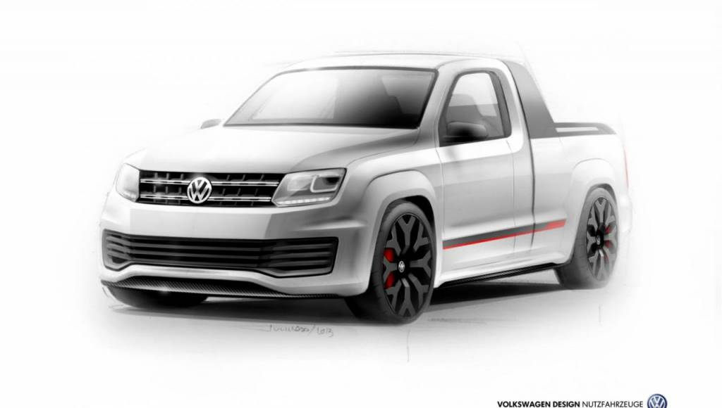 Volkswagen Amarok R-Style Concept to debut at Worthersee