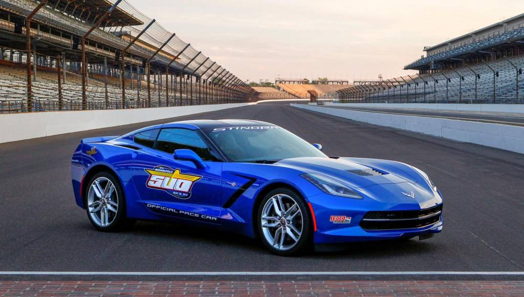 2014 Chevrolet Corvette Stingray is this year pace car for Indianapolis 500