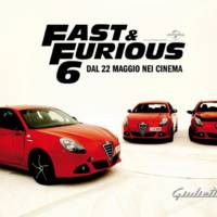 Alfa Romeo Giulietta stars in Fast and Furious 6