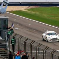 Aston Martin makes history with hydrogen powered Rapide S on Nurburgring